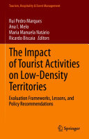 The Impact of Tourist Activities on Low-Density Territories