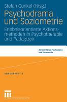 Psychodrama und Soziometrie PDF