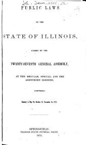 Public and Private Laws of the State of Illinois