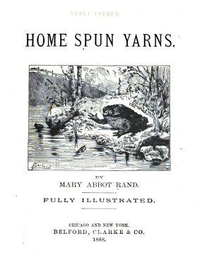 Home Spun Yarns Classic Reprint