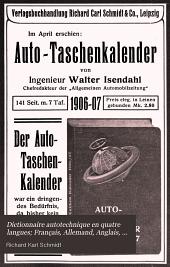 Dictionnaire autotechnique en quatre langues; Français, Allemand, Anglais, Italian
