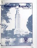 Download Louisiana Register Book