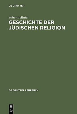 Geschichte der j  dischen Religion PDF