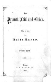 Der Armuth Leid und Glück: Roman, Band 3