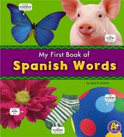 My First Book of Spanish Words PDF