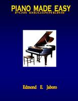 PIANO MADE EASY for beginners PDF