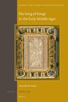 The Song of Songs in the Early Middle Ages PDF