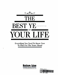 The Best Years of Your Life PDF