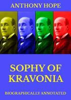 Sophy of Kravonia PDF