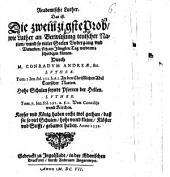 Der academische akademische Luther: das ist die zweinzigste [20.] Probe