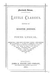 Little Classics: Poems, lyrical