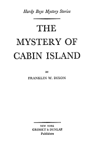 The Mystery of Cabin Island PDF