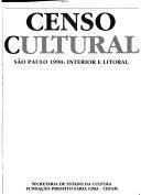 Censo cultural  S  o Paulo 1990 PDF