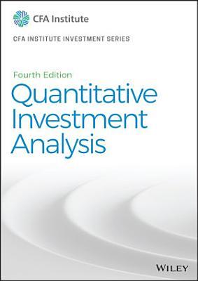 Quantitative Investment Analysis PDF