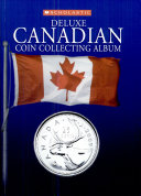 Deluxe Canadian coin collecting album