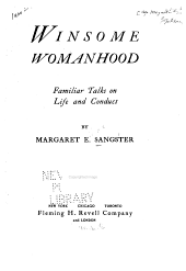 Winsome Womanhood: Familiar Talks on Life and Conduct