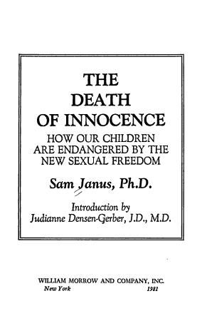 The Death of Innocence PDF
