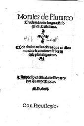 Morales de Plutarco