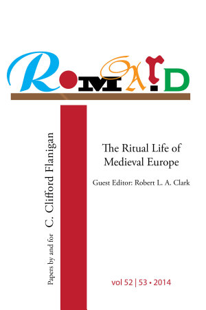 ROMARD: Research on Medieval and Renaissance Drama, vol 52-53