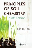 Principles of Soil Chemistry  Fourth Edition PDF