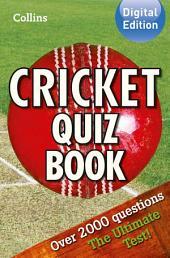 Collins Cricket Quiz Book