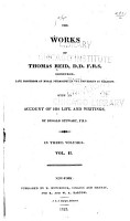 The Works of Thomas Reid  with an Account of His Life and Writings PDF