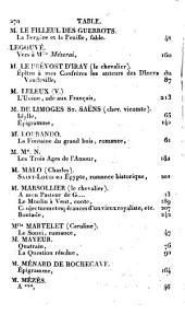 Almanach des Muses: 1765-