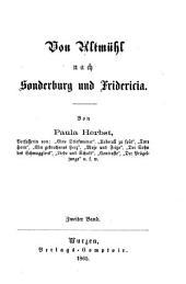 Von Altmühl nach Sonderburg und Fridericia: Von Paula Herbst, Band 2