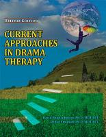 Current Approaches in Drama Therapy PDF