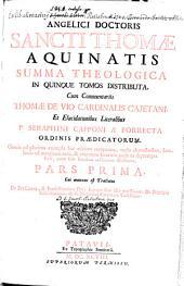 Summa Theologica: In Quinque Tomos Distributa. Cui annexus est Tractatus De Praescientia, & Praedestinatione Dei .... 1