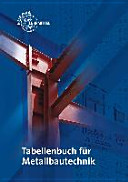 Tabellenbuch Metallbautechnik PDF