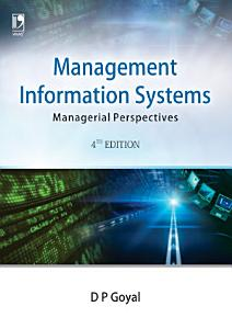 Management Information Systems  Managerial Perspectives  4th Edition Book