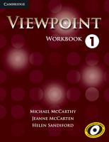 Viewpoint Level 1 Workbook PDF