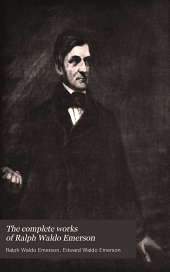 The Complete Works of Ralph Waldo Emerson: English traits