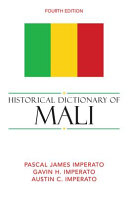 Historical Dictionary of Mali PDF