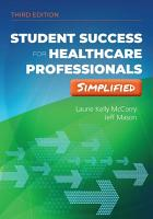 Student Success Healthcare Profess 3 PDF