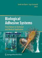 Biological Adhesive Systems PDF