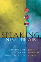 Speaking into the Air PDF