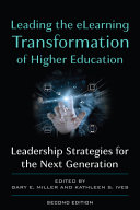 Leading the E learning Transformation of Higher Education PDF