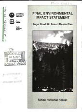 Tahoe National Forest (N.F.), Sugar Bowl Ski Resort Master Plan: Environmental Impact Statement