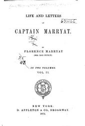 Life and Letters of Captain Marryat: Volume 2