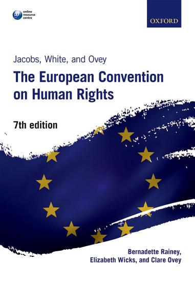 Jacobs  White and Ovey  the European Convention on Human Rights PDF
