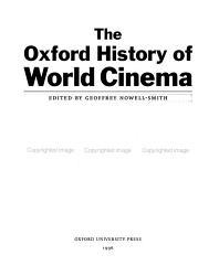 The Oxford History Of World Cinema Book PDF