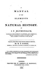 A Manual of the Elements of Natural History PDF