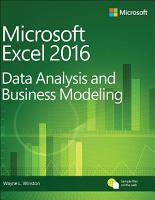 Microsoft Excel Data Analysis and Business Modeling PDF
