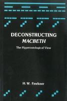 Deconstructing Macbeth PDF