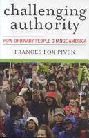 Challenging Authority PDF
