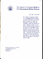 Guide to United States Government Motion Pictures PDF