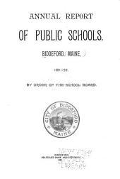 Annual Report of Public Schools