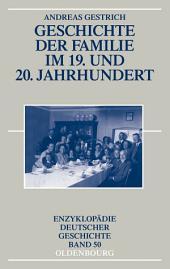Geschichte der Familie im 19. und 20. Jahrhundert: Ausgabe 3